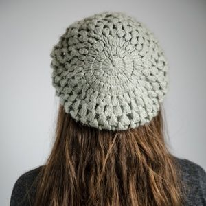 Accessories - Knitted Grey Beanie